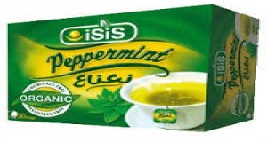 Isis peppermint teabags