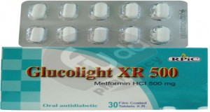 Glucolight XR 500mg